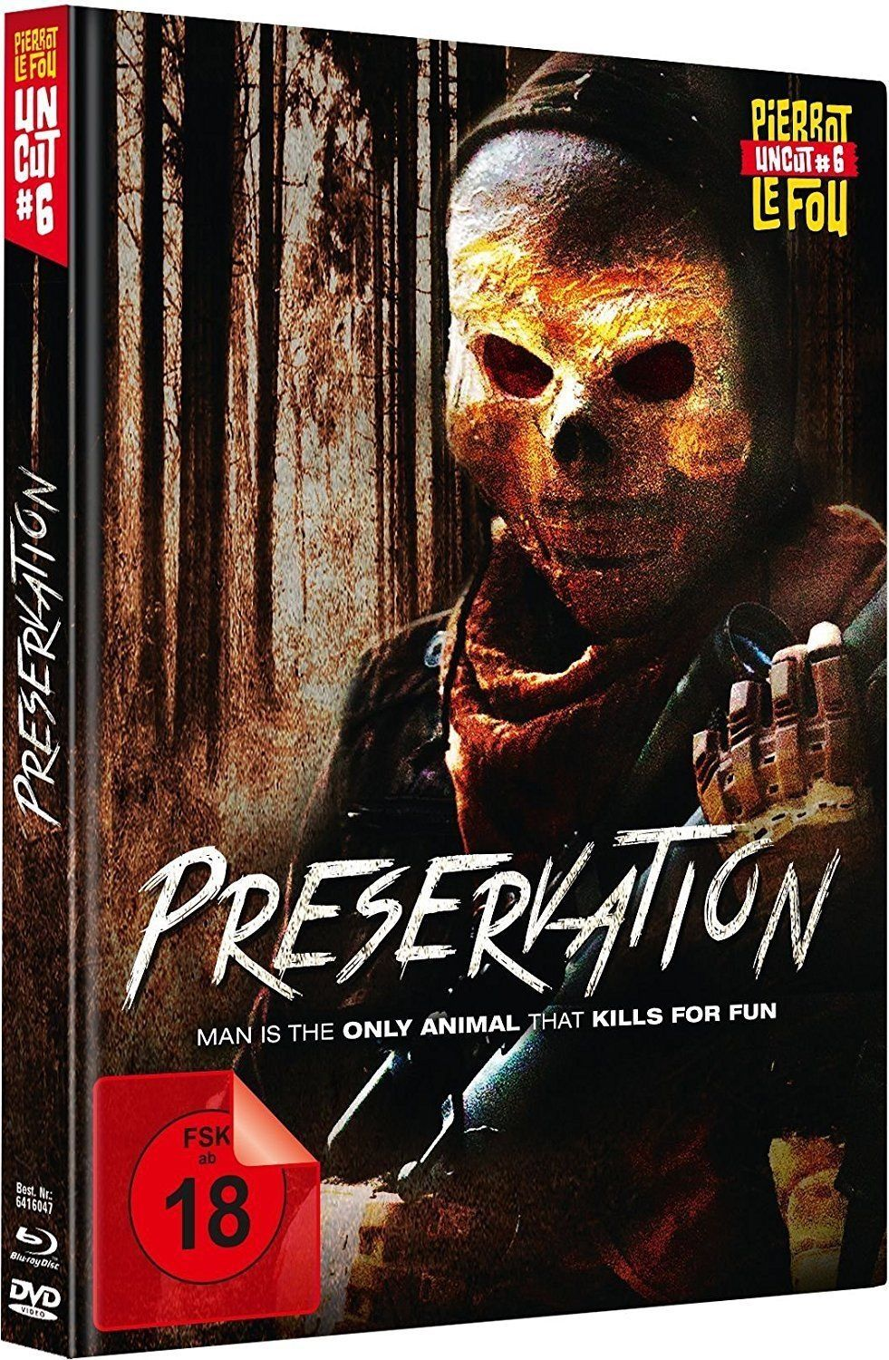 Preservation (Lim. Uncut Mediabook) (DVD + BLURAY)