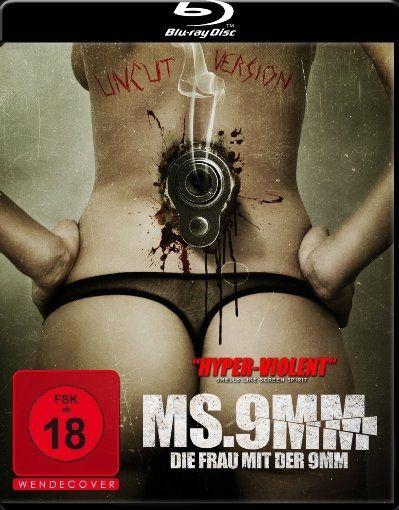MS.9MM - Die Frau mit der 9MM (Uncut) (BLURAY)
