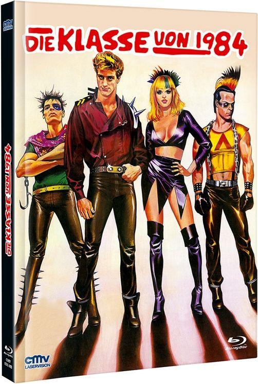 Klasse von 1984, Die (Lim. Uncut Mediabook - Cover A) (DVD + BLURAY)