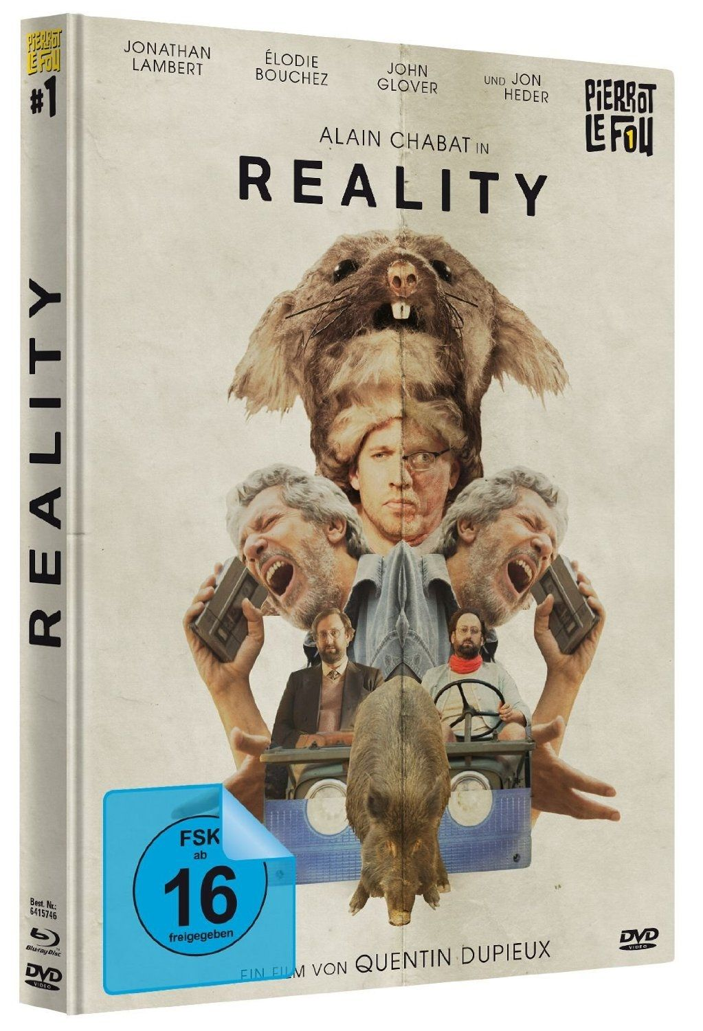 Reality (Lim. Mediabook) (DVD + BLURAY)