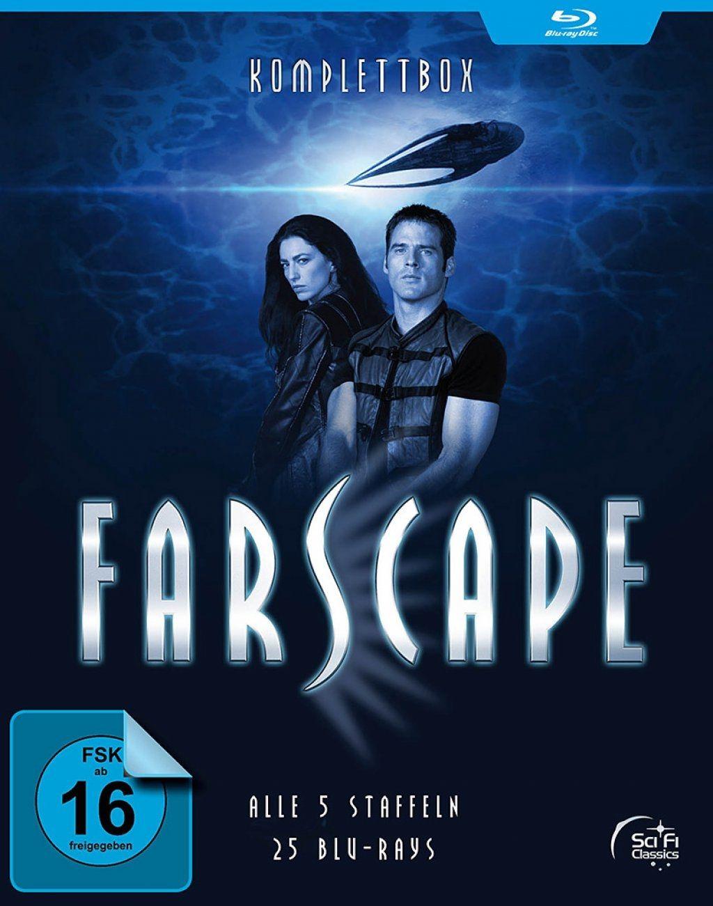 Farscape - Verschollen im All - Die komplette Serie (25 Discs) (BLURAY)