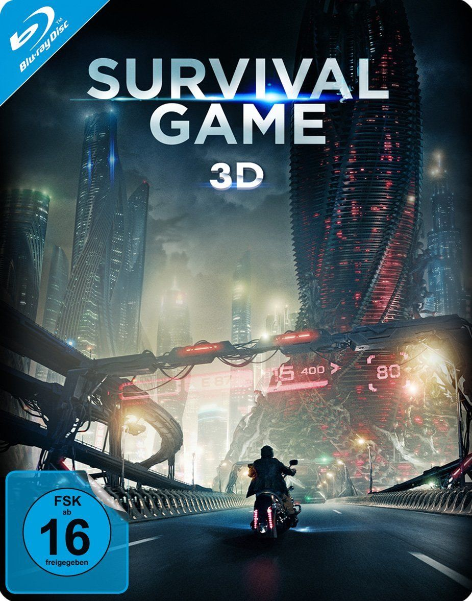 Survival Game 3D (Lim. Steelbook) (BLURAY 3D)