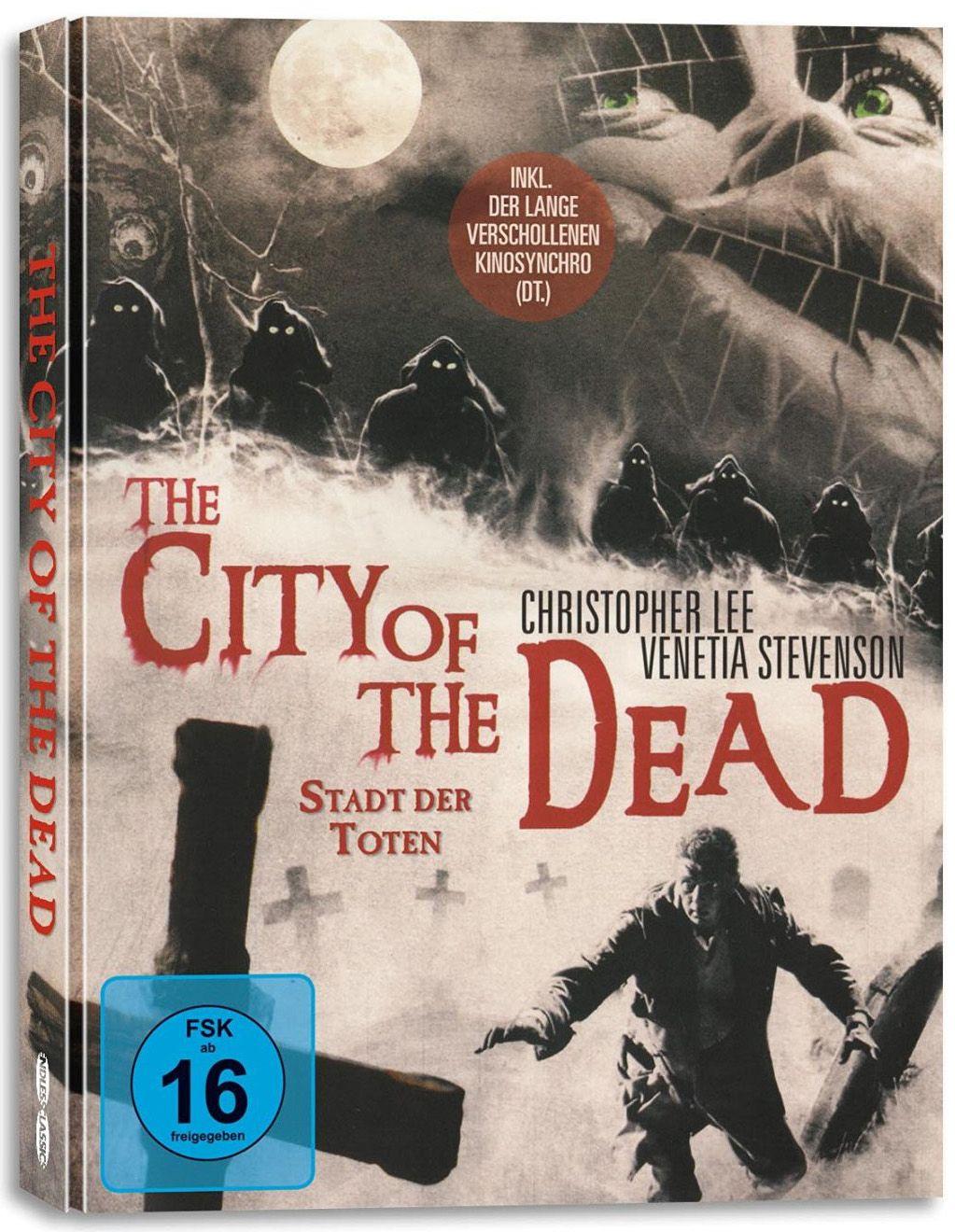 Stadt der Toten (Lim. Mediabook) (DVD + BLURAY)