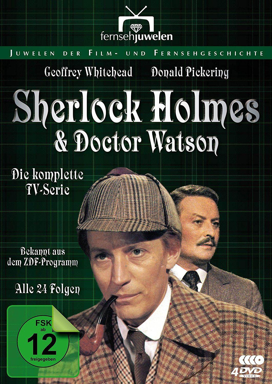 Sherlock Holmes und Dr. Watson - Die komplette Serie (4 Discs)