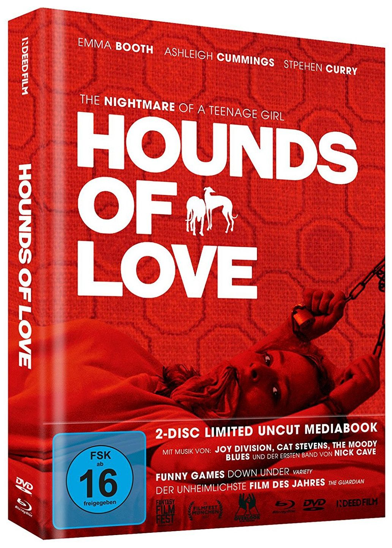Hounds of Love (Lim. Uncut Mediabook) (DVD + BLURAY)
