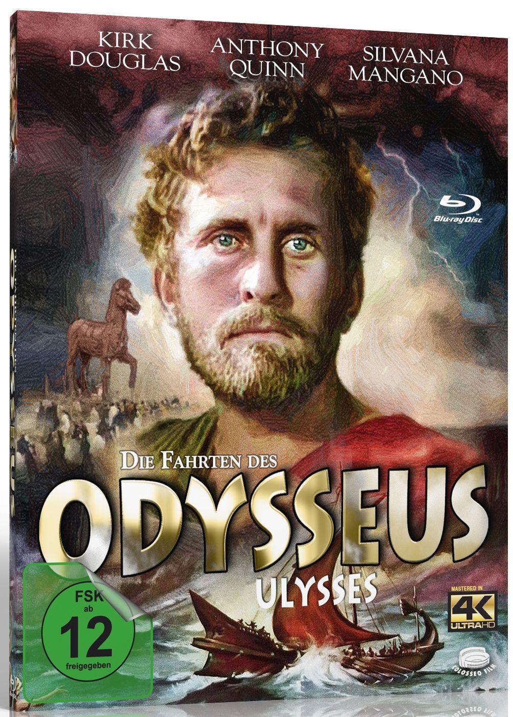 Fahrten des Odysseus, Die (4K Remastered) (DVD + BLURAY)