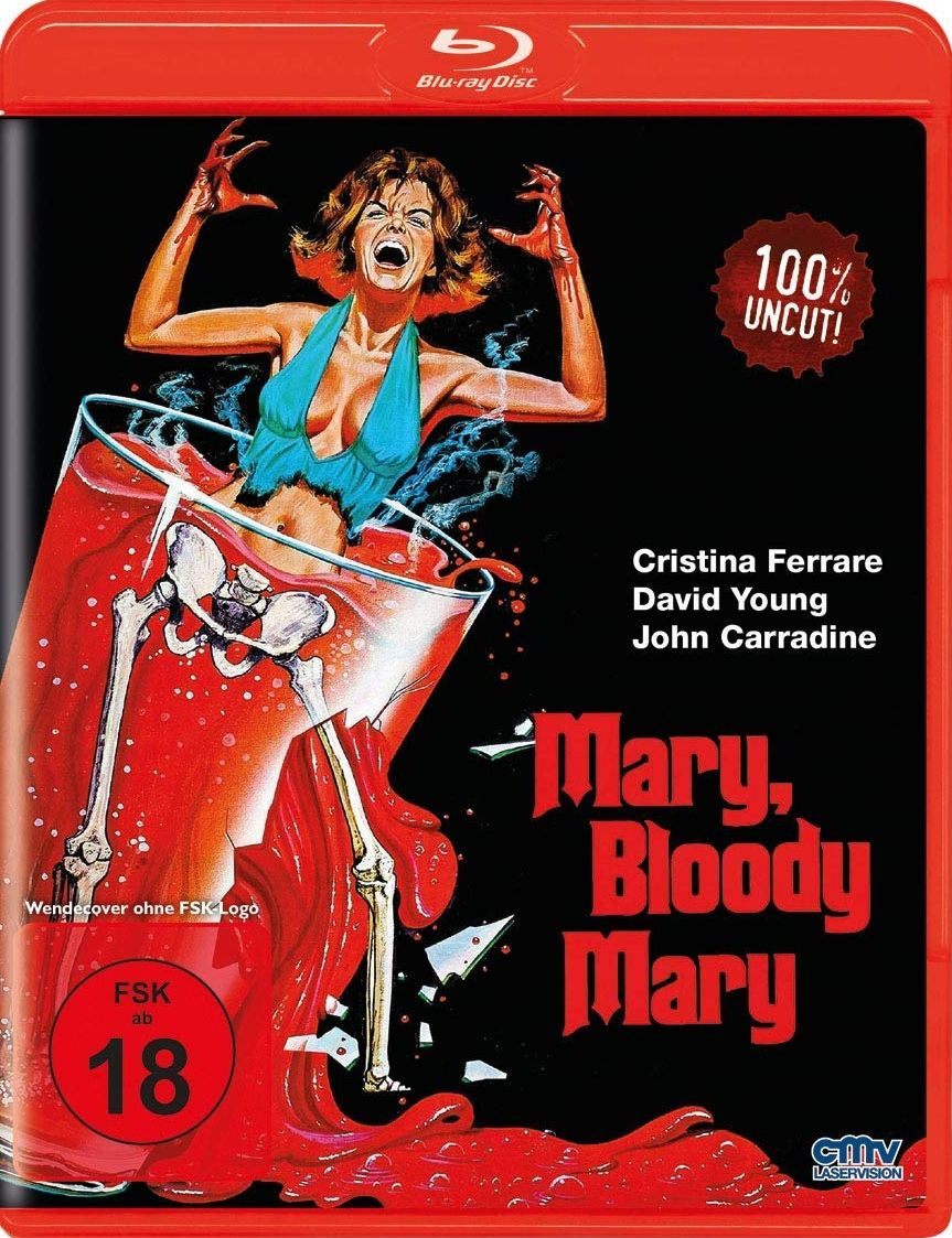 Mary, Bloody Mary (Uncut) (BLURAY)