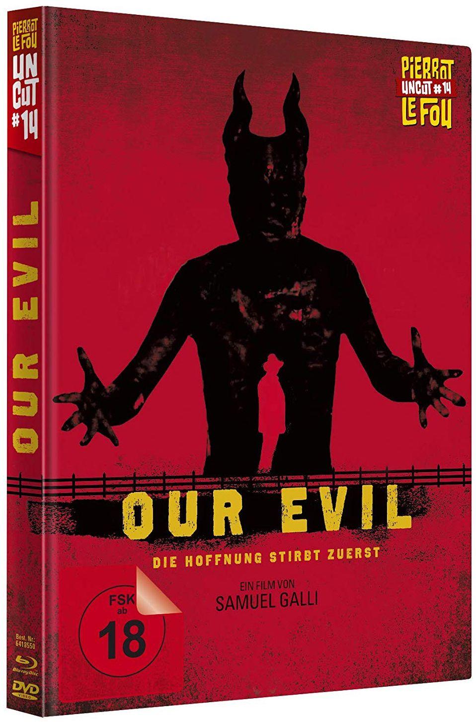 Our Evil - Die Hoffnung stirbt zuerst (Lim. Uncut Mediabook) (DVD + BLURAY)