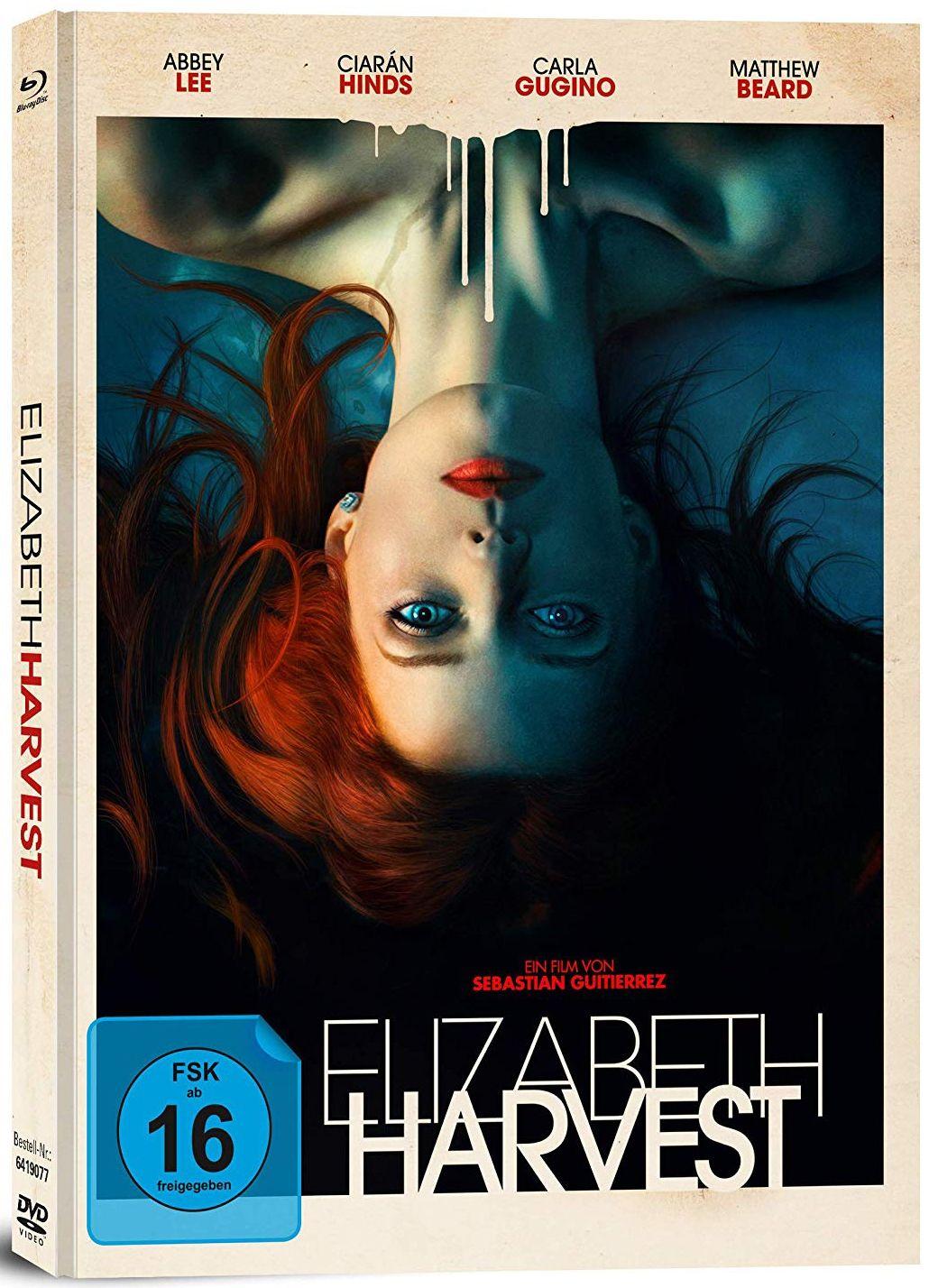 Elizabeth Harvest (Lim. Uncut Mediabook) (DVD + BLURAY)