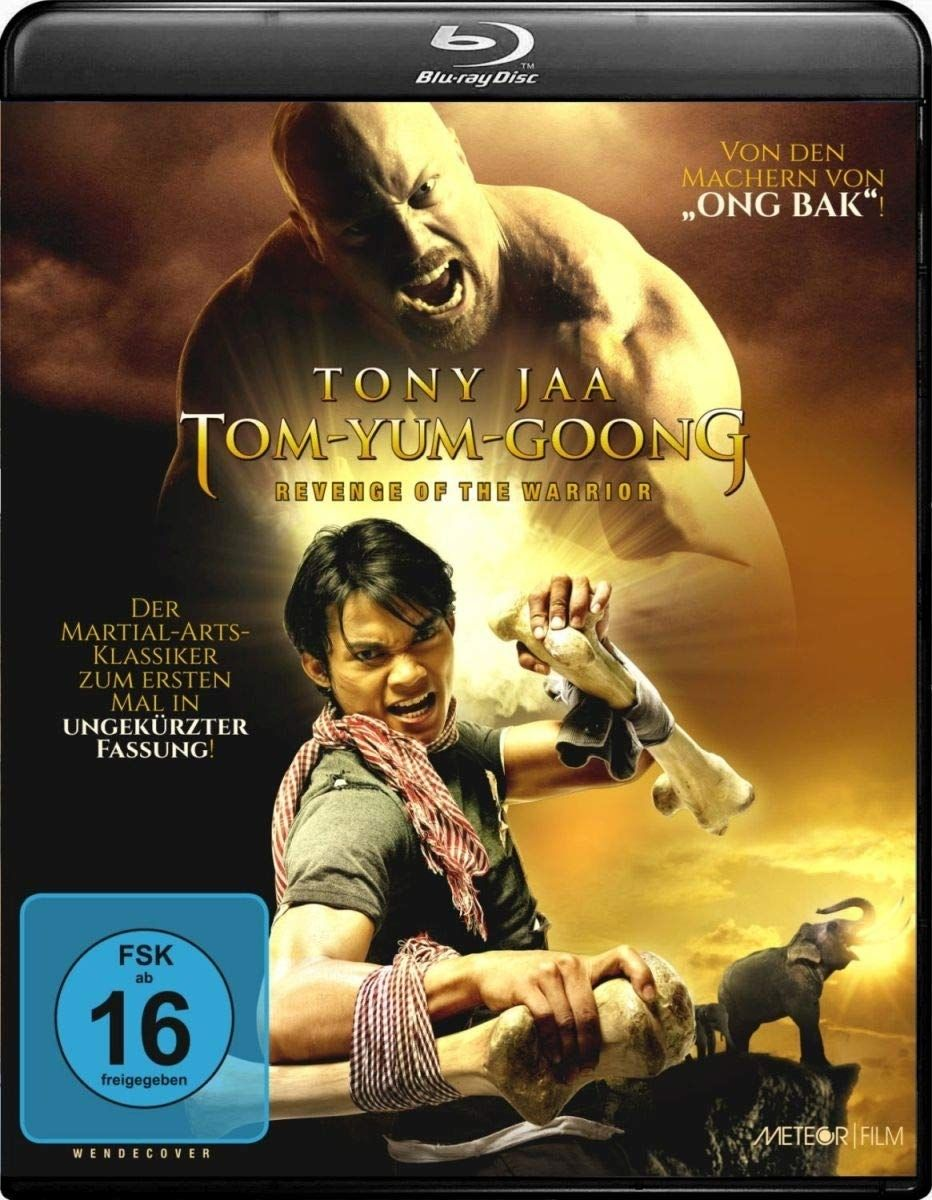 Tom Yum Goong - Revenge of the Warrior (Uncut Thai-Fassung) (BLURAY)