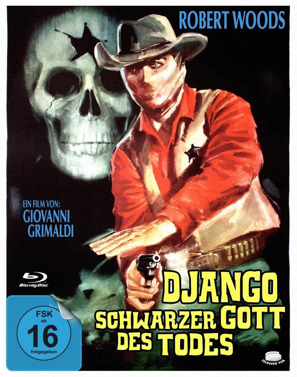 Django - Schwarzer Gott des Todes (BLURAY)