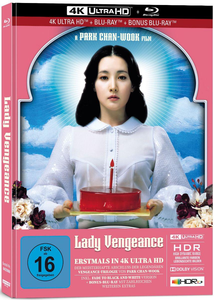 Lady Vengeance (Lim. Uncut Mediabook) (3 Discs) (UHD BLURAY + BLURAY)