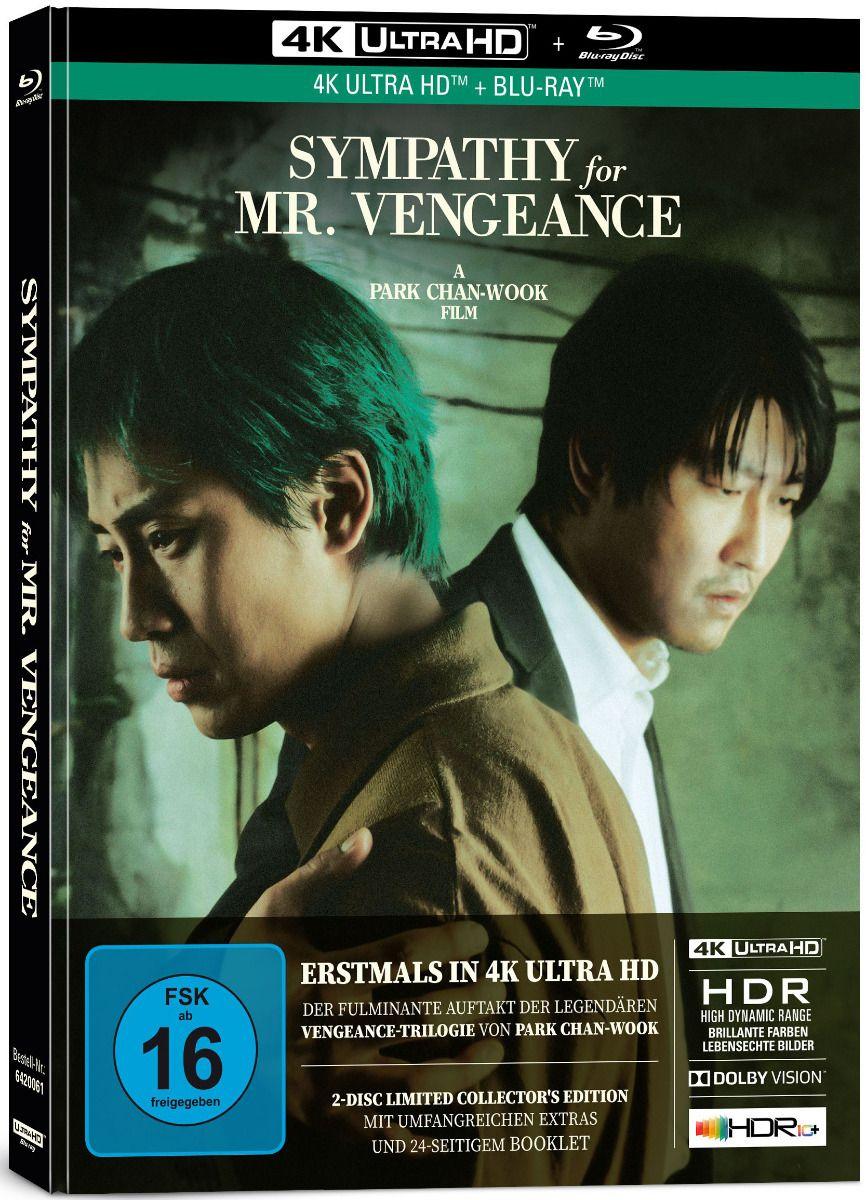 Sympathy for Mr. Vengeance (Lim. Uncut Mediabook) (UHD BLURAY + BLURAY)