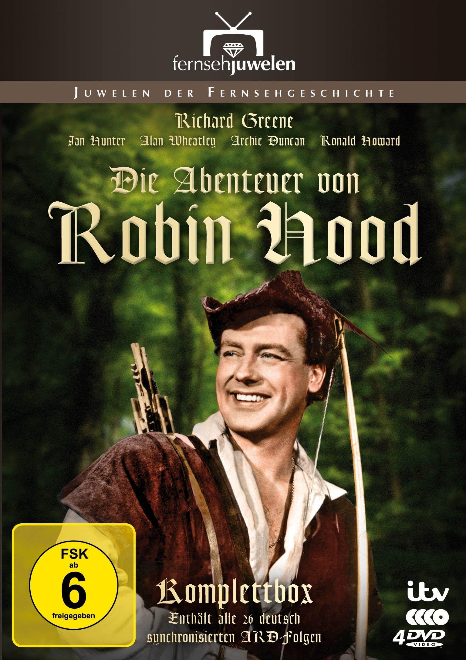 Abenteuer von Robin Hood, Die (4 Discs)