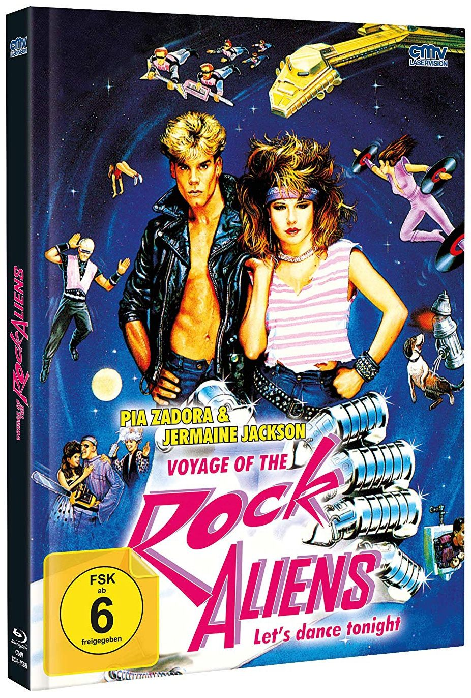 Voyage of the Rock Aliens (Lim. Uncut Mediabook - Cover A) (2 DVD + BLURAY)