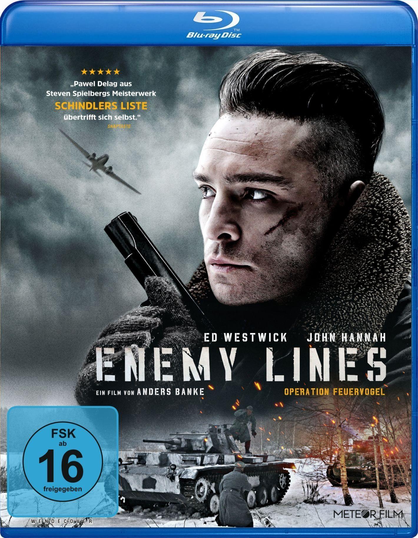 Enemy Lines - Codename Feuervogel (BLURAY)