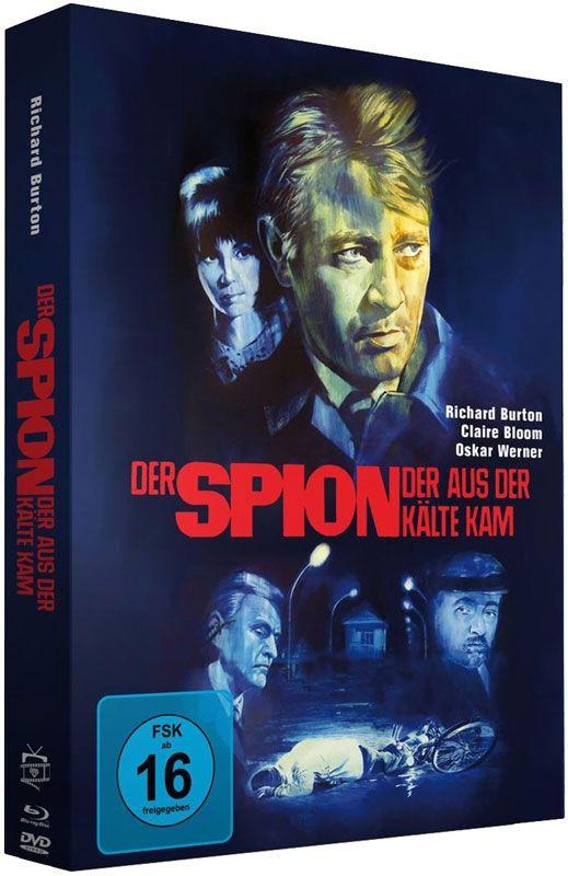 Spion, der aus der Kälte kam, Der (Lim. Uncut Mediabook) (DVD + BLURAY)