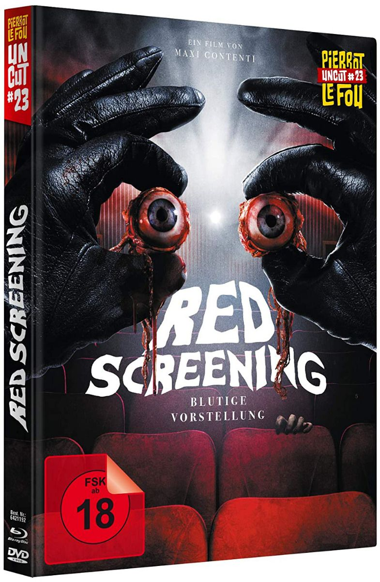 Red Screening - Blutige Vorstellung (Lim. Uncut Mediabook) (DVD + BLURAY)