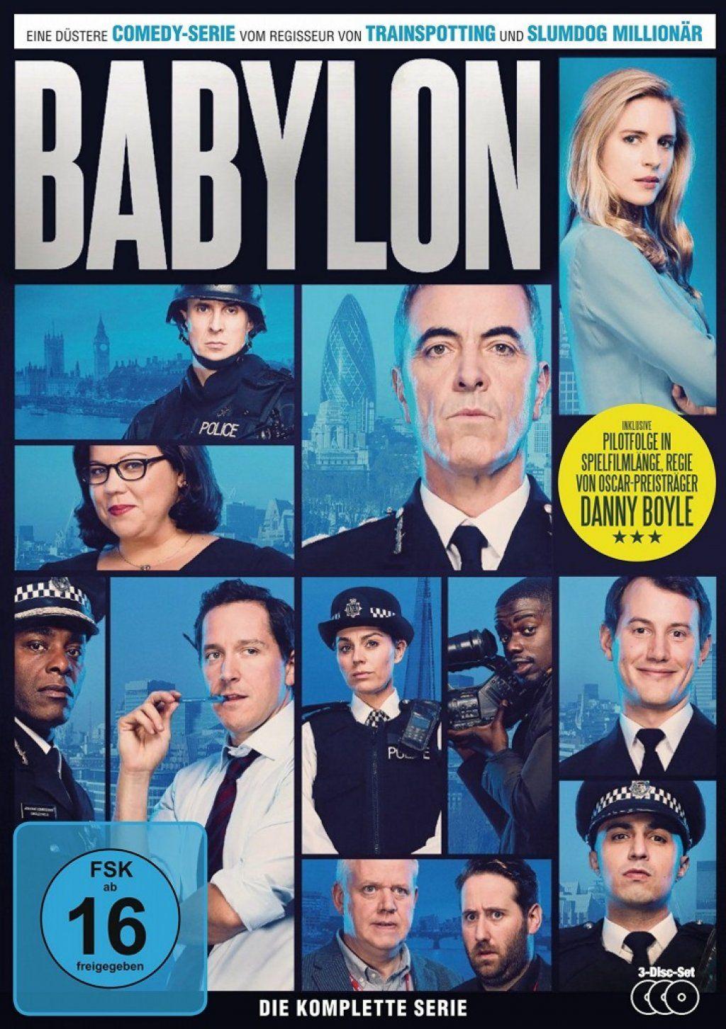 Babylon - Die komplette Serie (3 Discs)