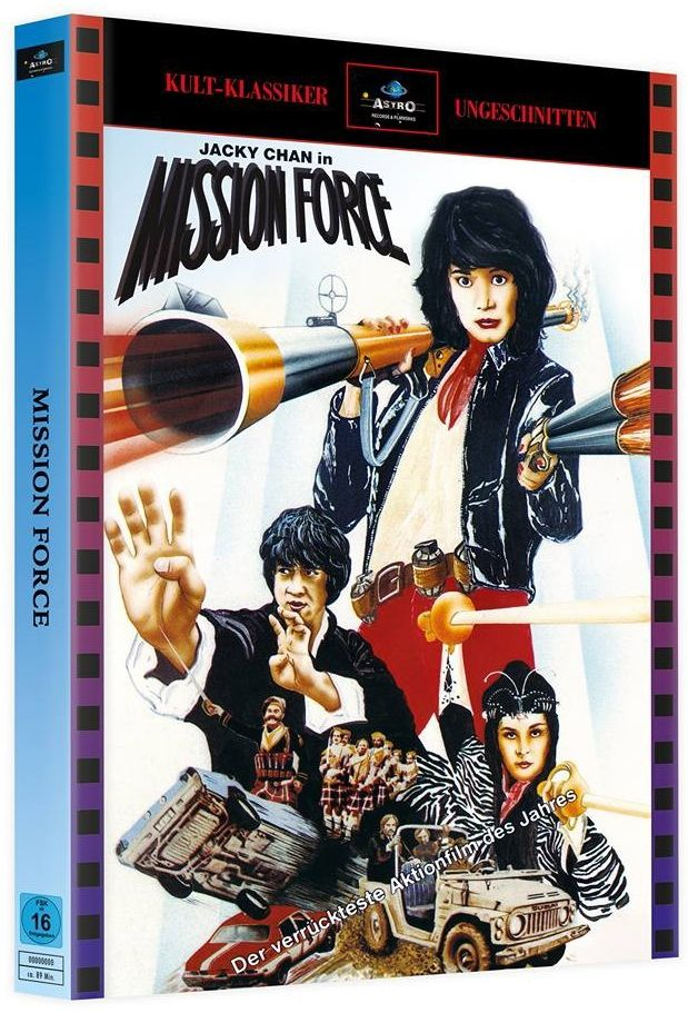 Jackie Chan - Mission Force (Lim. Uncut Mediabook - Cover A) (2 BLURAY)