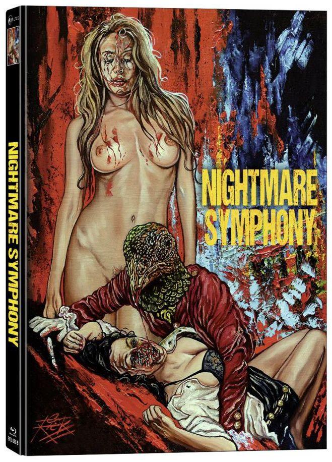 Nightmare Symphony (Lim. Uncut Mediabook - Cover B) (DVD + BLURAY)