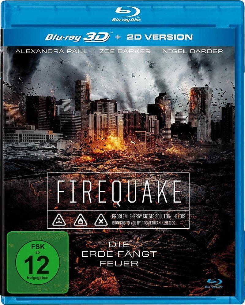 Firequake - Die Erde fängt Feuer 3D (BLURAY 3D)