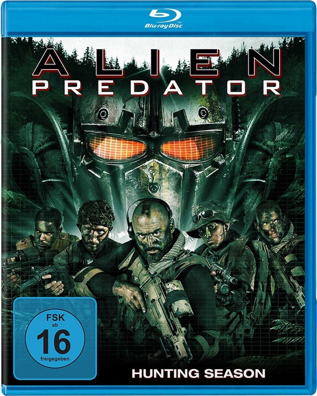 Alien Predator - Hunting Season (BLURAY)
