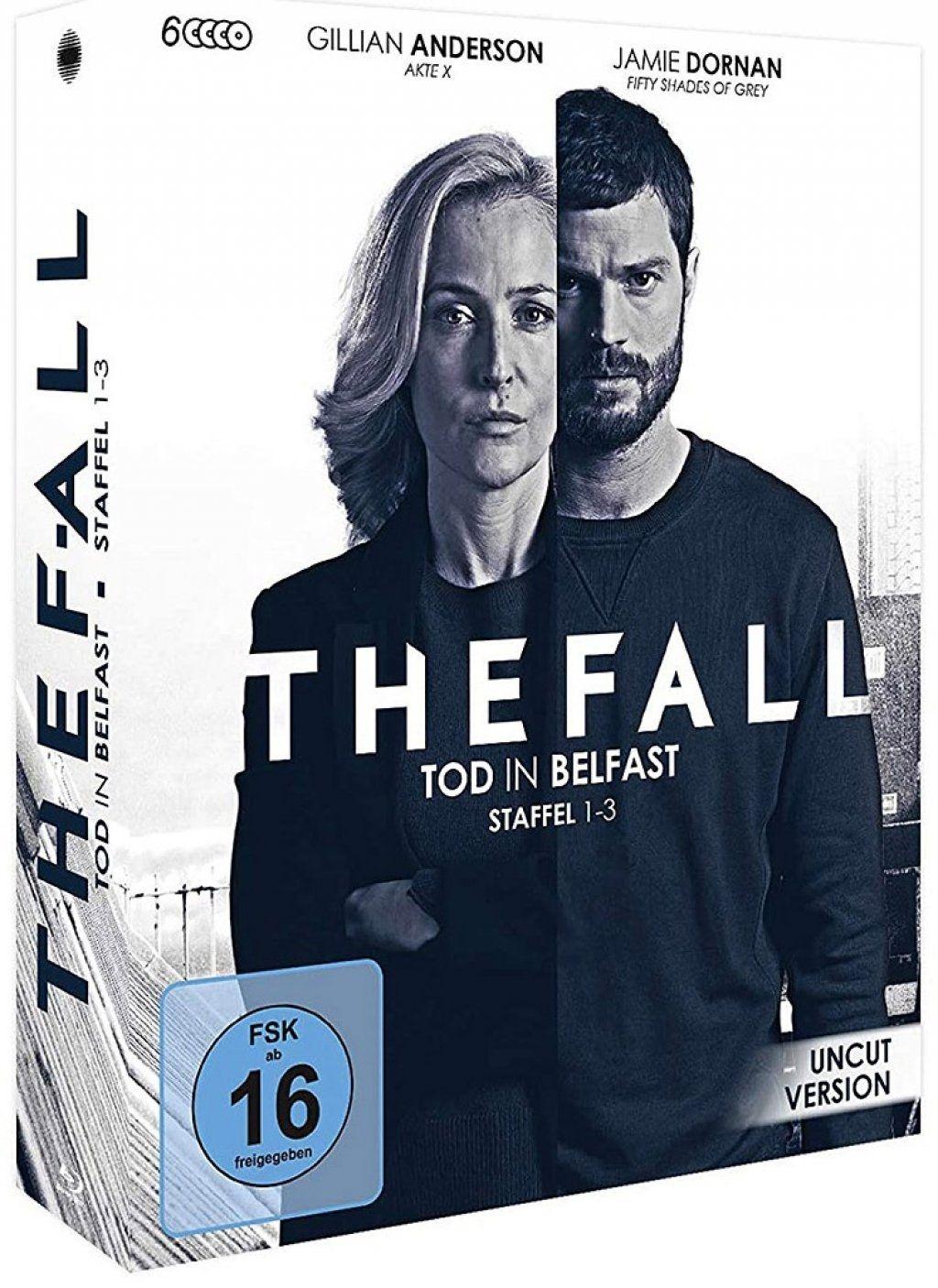 Fall, The - Tod in Belfast - Staffel 1-3 (6 Discs) (BLURAY)