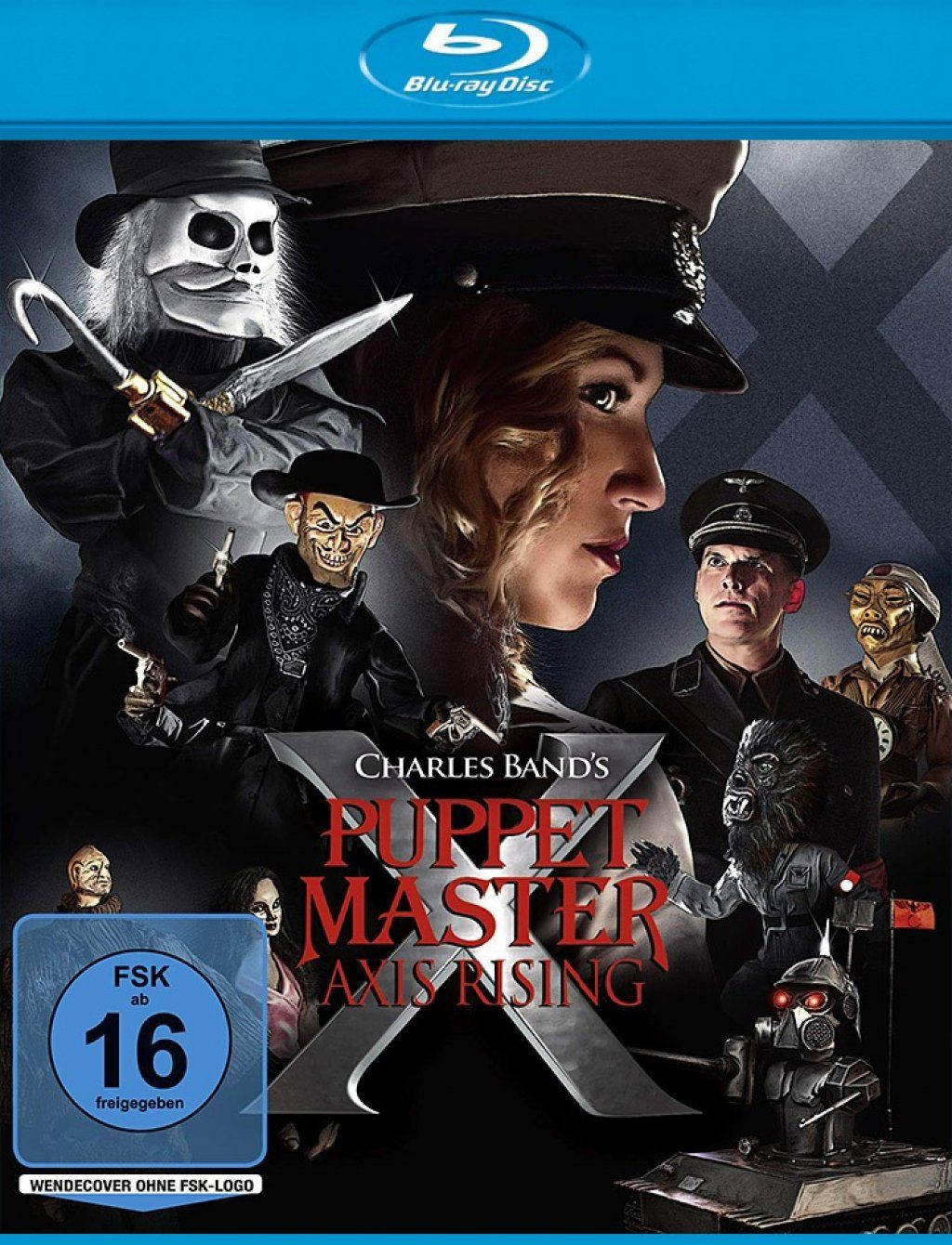 Puppet Master X - Axis Rising (BLURAY)