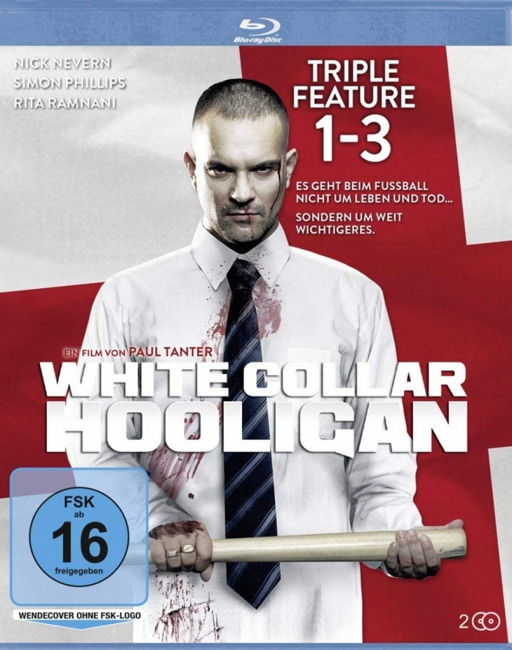White Collar Hooligan 1-3 Tripple Feature (2 Discs) (BLURAY)