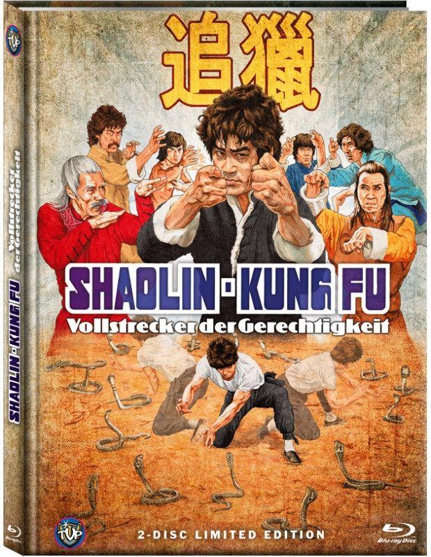 Shaolin-Kung Fu - Vollstrecker der Gerechtigkeit (Lim. Uncut Mediabook - Cover C) (DVD + BLURAY)