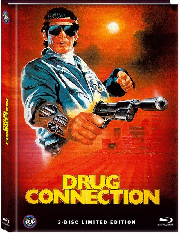 Drug Connection (Lim. Uncut Mediabook - Cover A) (2 DVD + BLURAY)