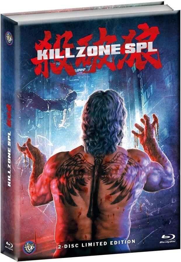 Kill Zone SPL (Lim. Uncut Wattiertes Mediabook) (DVD + BLURAY)