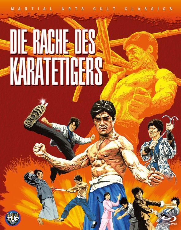 Rache des Karatetigers, Die (Lim. BD Hartbox) (BLURAY)