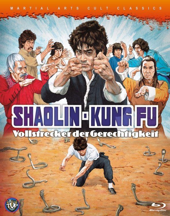 Shaolin-Kung Fu - Vollstrecker der Gerechtigkeit (Lim. BD Hartbox) (BLURAY)