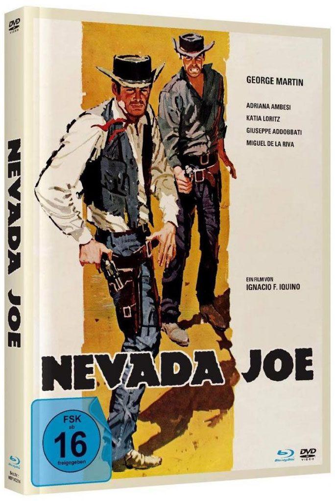 Nevada Joe (Lim. Uncut Mediabook - Cover A) (DVD + BLURAY)
