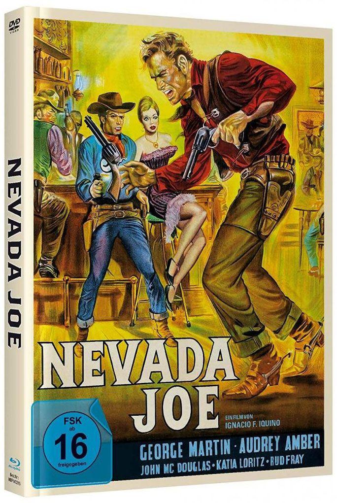 Nevada Joe (Lim. Uncut Mediabook - Cover B) (DVD + BLURAY)