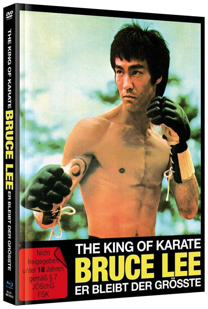 King of Karate, The - Bruce Lee - Er bleibt der Größte (Lim. Uncut Mediabook - Cover A) (DVD + BLURAY)