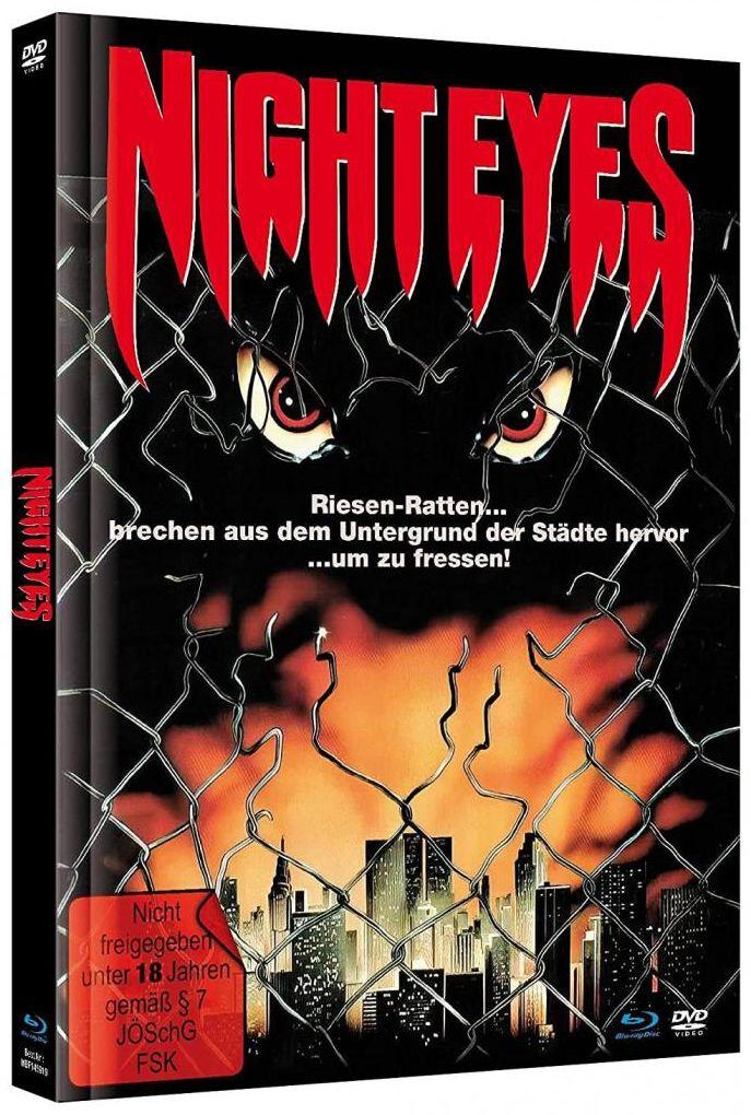 Night Eyes (Lim. Uncut Mediabook - Cover A) (DVD + BLURAY)
