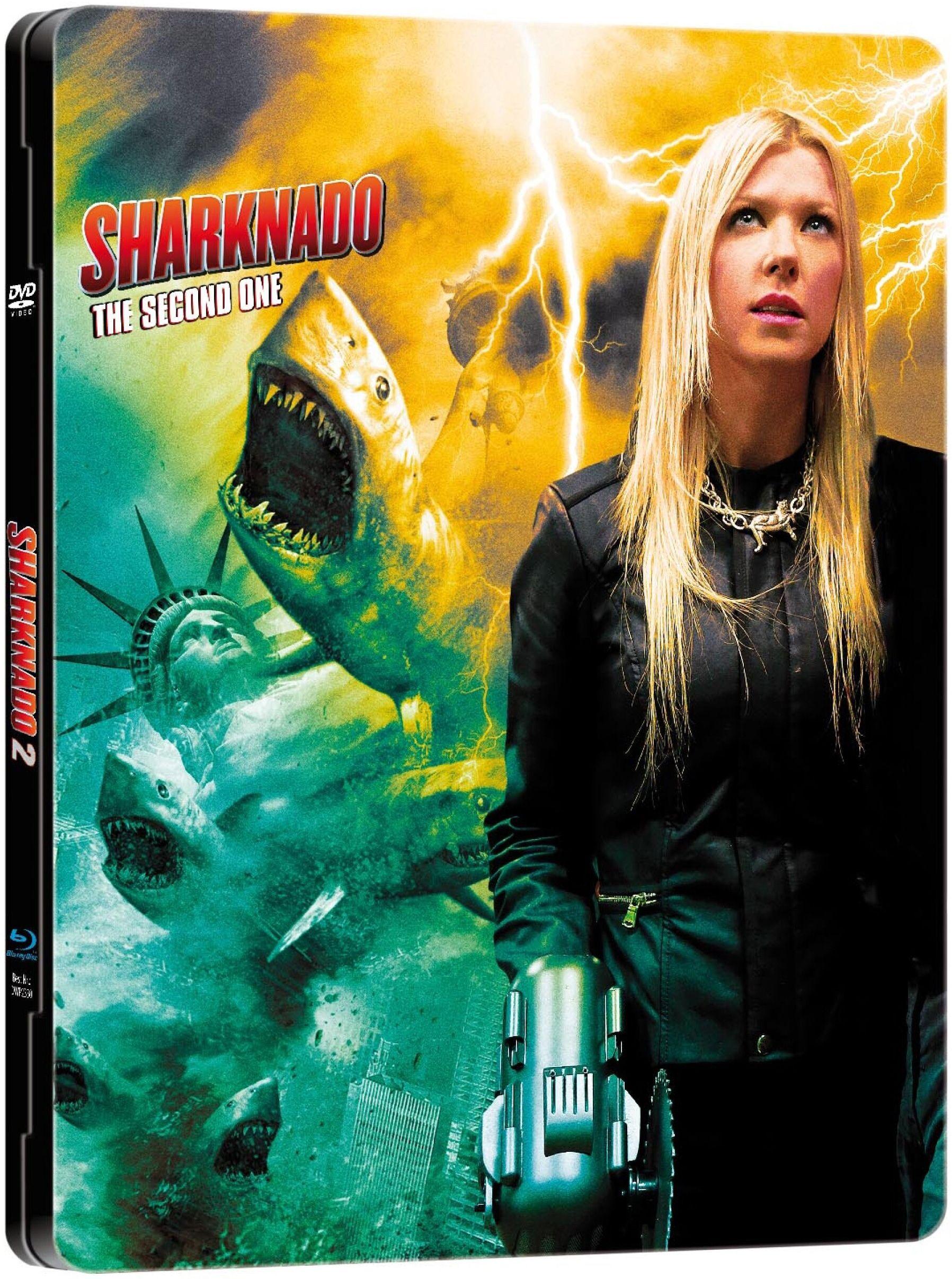 Sharknado 2 - The Second One (Lim. Metalpak) (DVD + BLURAY)
