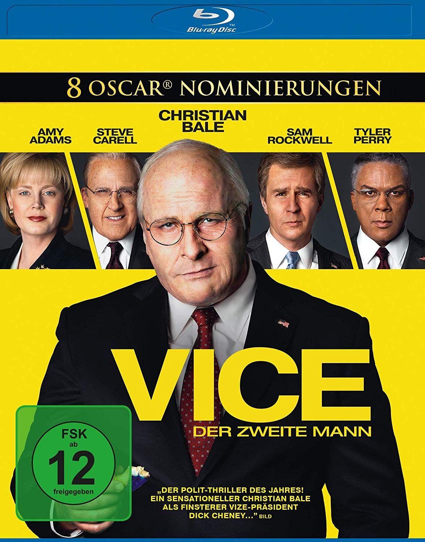 Vice - Der zweite Mann (BLURAY)