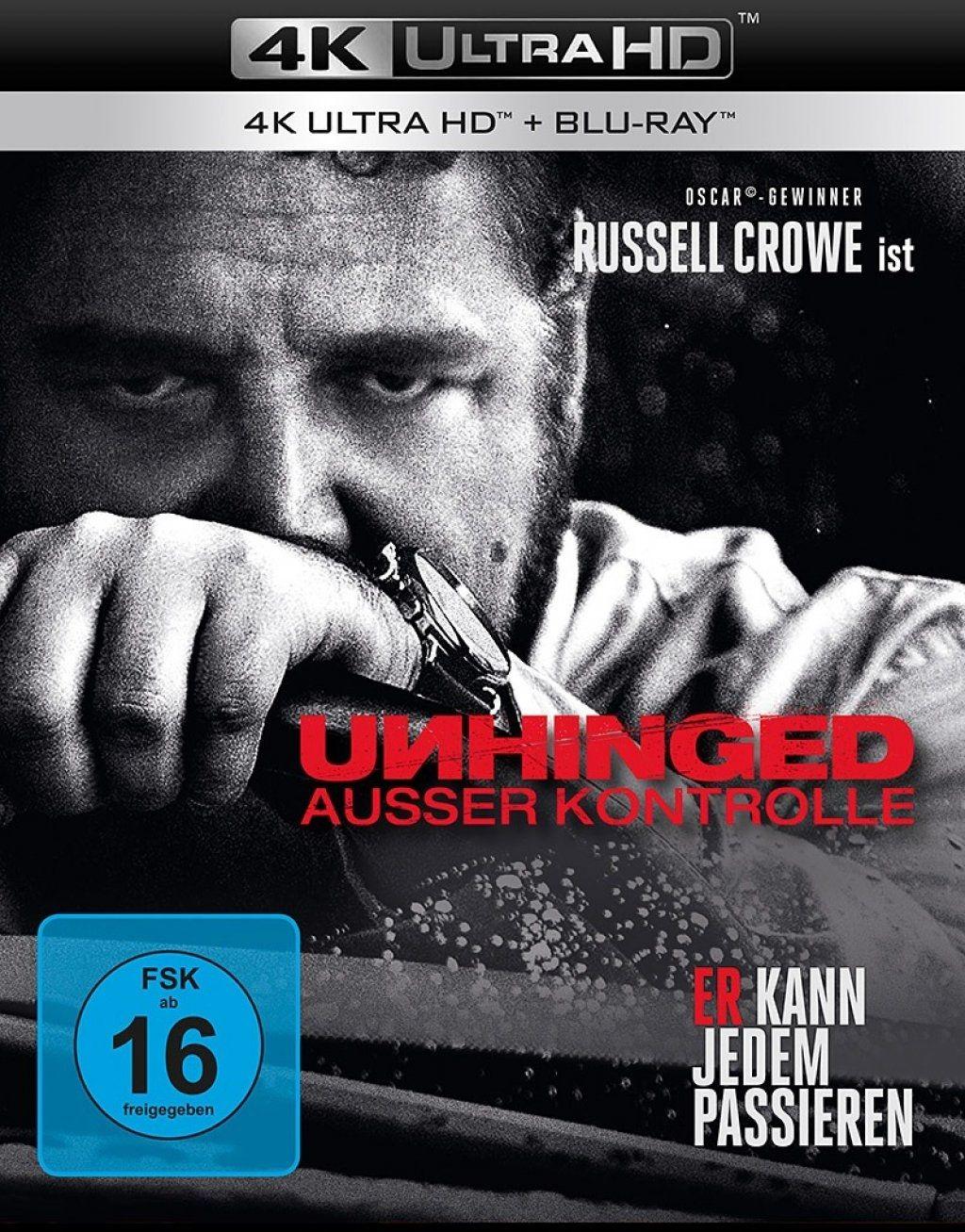 Unhinged - Ausser Kontrolle (2 Discs) (UHD BLURAY + BLURAY)
