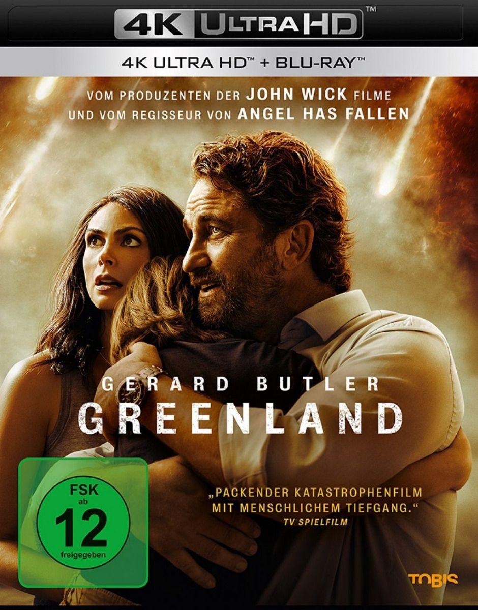 Greenland (2 Discs) (UHD BLURAY + BLURAY)