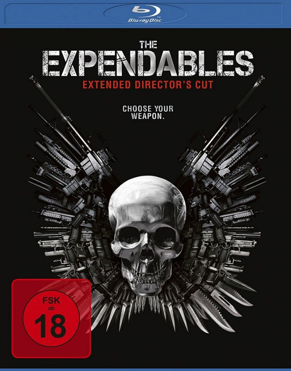 Expendables, The (Extended Director's Cut) (Neuauflage) (BLURAY)