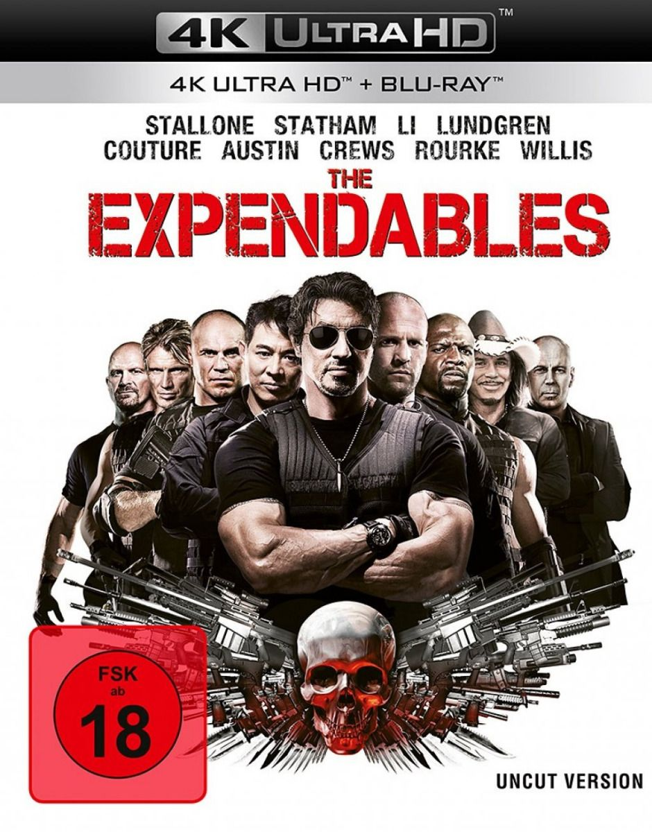 Expendables, The (2 Discs) (UHD BLURAY + BLURAY)