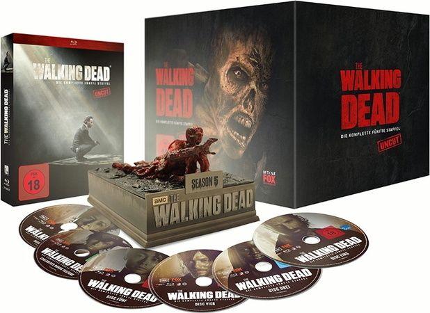 Walking Dead, The - Season 5 (Uncut) (Lim. Asphalt Walker Ed.) (6 Discs) (BLURAY)