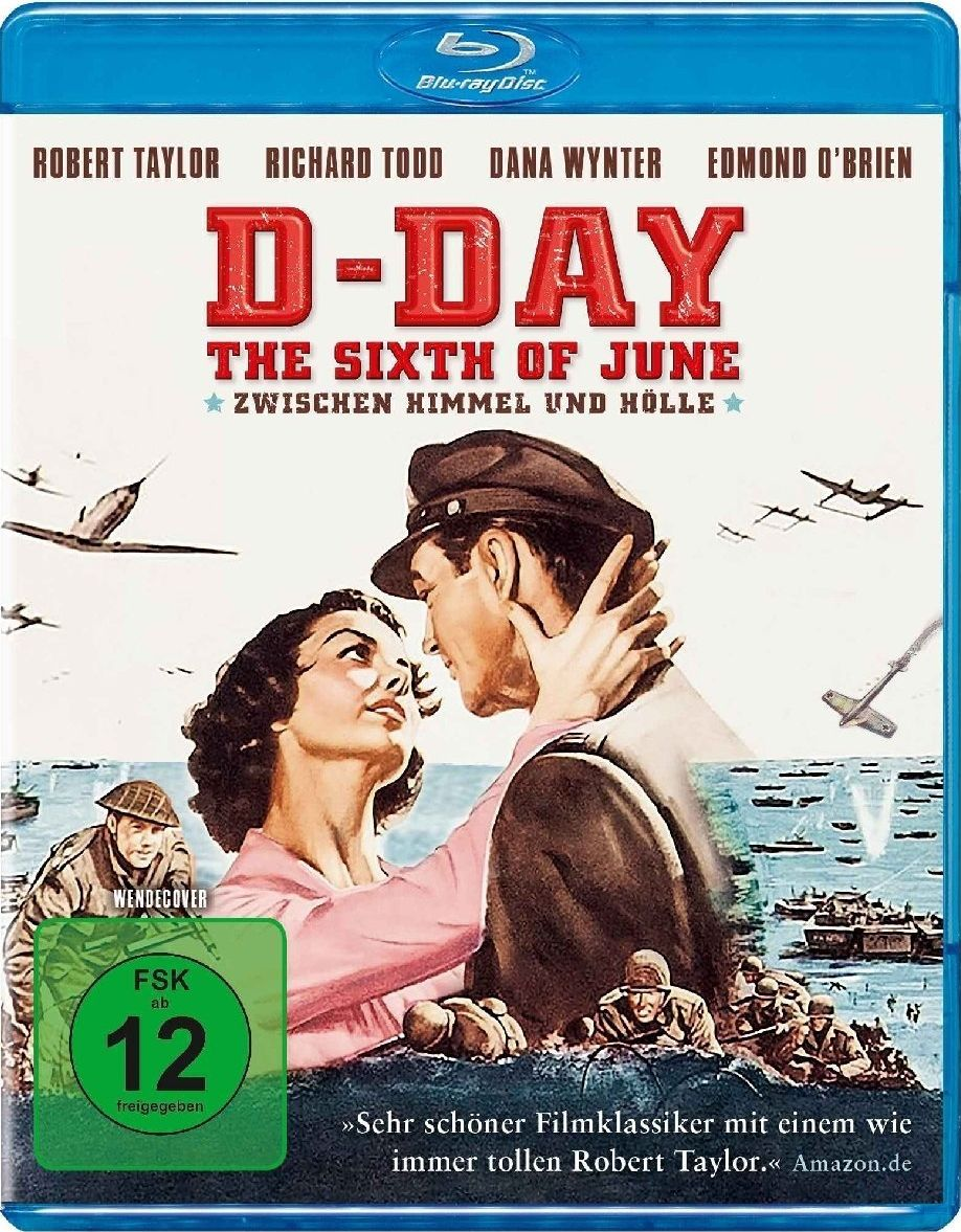D-Day - The Sixth of June - Zwischen Himmel und Hölle (BLURAY)