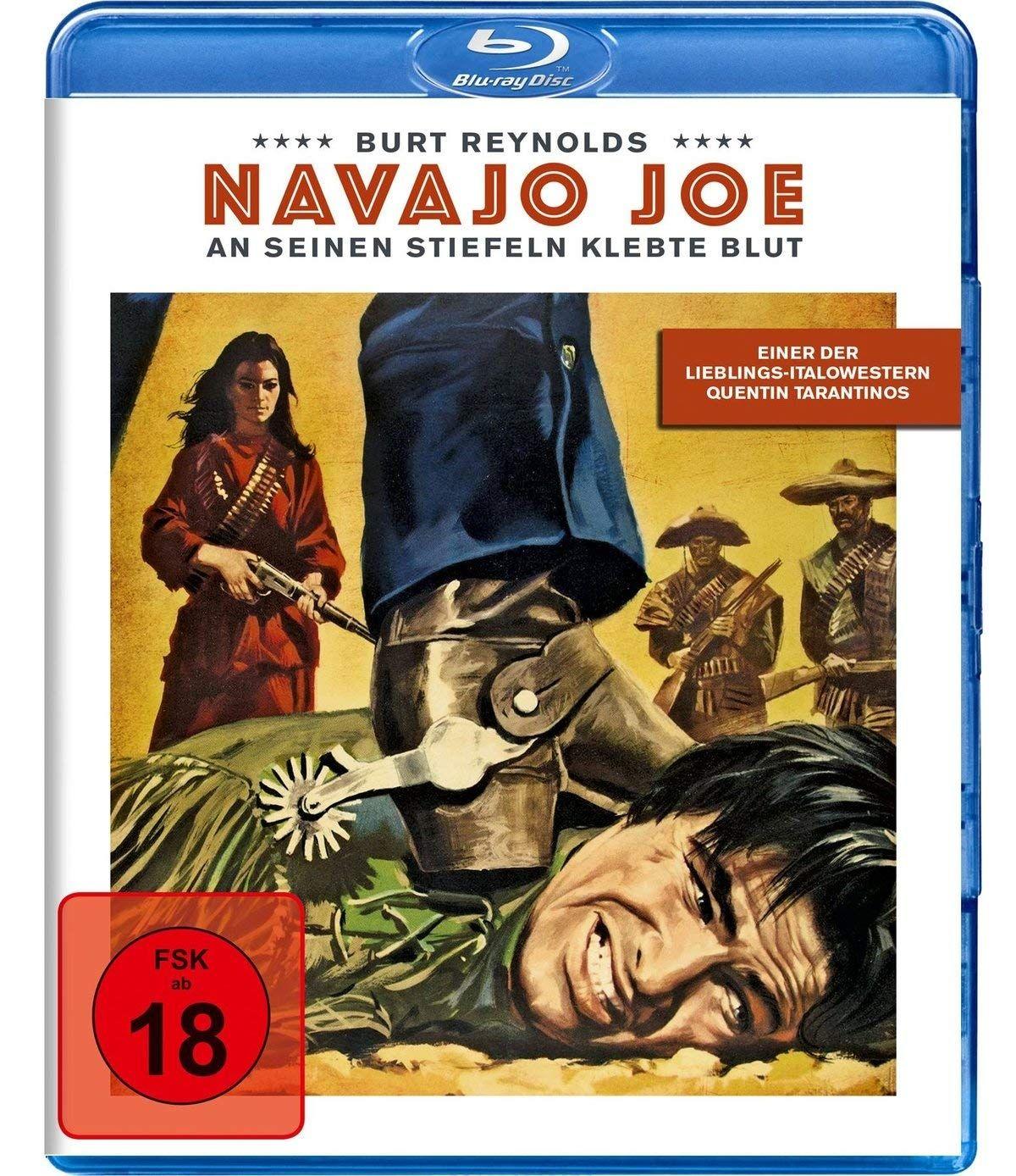 Navajo Joe - An seinen Stiefeln klebte Blut (BLURAY)