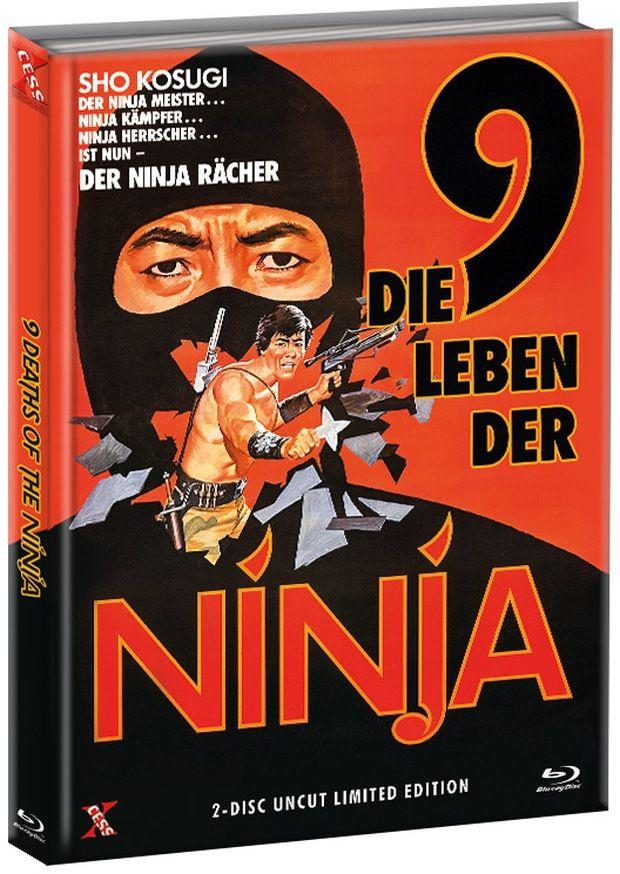 9 Leben der Ninja, Die (Lim. Uncut Mediabook - Cover A) (DVD + BLURAY)