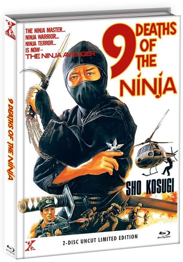 9 Leben der Ninja, Die (Lim. Uncut Mediabook - Cover B) (DVD + BLURAY)